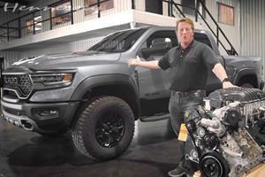 Hennessey Ready To Drop 1,000-HP Hellephant Engine Into Ram 1500 TRX