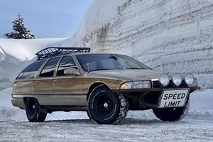 Jacked-Up Buick Roadmaster Makes Crossovers Look Lame