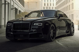Rolls-Royce Wraith Black Badge Gets Widebody Kit And 717 HP