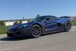 Watch The Rimac C_Two Smash The Bugatti Chiron's Quarter-Mile Time
