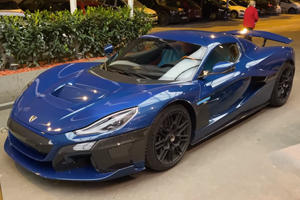 The Rimac C_Two Looks Spectacular In The Metal