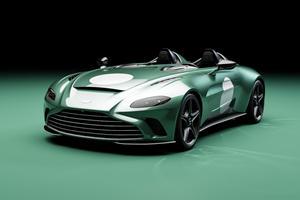 Special Edition Aston Martin V12 Speedster Gets DBR1 Flavor