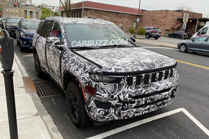 Spied! First Look At The New 2022 Jeep Grand Cherokee