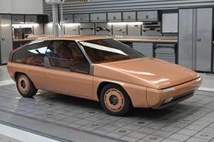 Mazda Restores Fabulously Weird Hatchback Concept