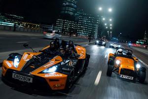 4 Track Cars Storm London