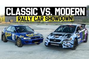 Ken Block Compares His 2021 Subaru WRX STI To The Legendary GC8