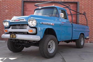 This V8-Powered 1959 Apache Makes A Raptor Look Boring
