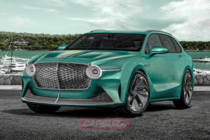 Electric Bentley SUV Coming In 2025