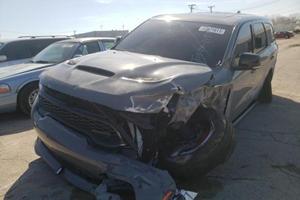 Dodge Durango SRT Hellcat Totaled After Just 479 Miles