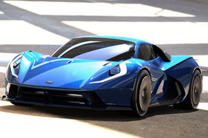 New 2,000-HP Hypercar Can Hit 200 MPH In Under 10 Seconds