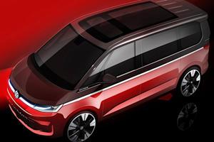 Volkswagen Teases T7 Van In Two-Tone Paint