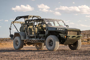 America's New Military Off-Roader Has Nascar Technology