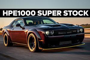 Hennessey Reveals HPE1000 Challenger SRT Super Stock