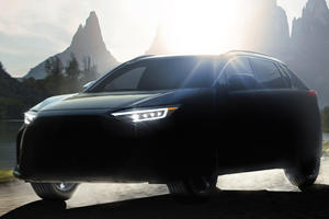 Meet The Solterra: Subaru Teases First Electric SUV