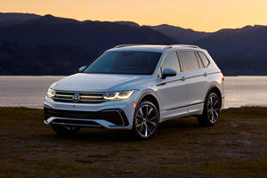 2022 Volkswagen Tiguan Arrives With A Refresh Inside And Out