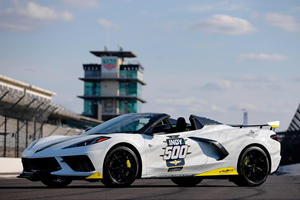 2021 Chevrolet Corvette Stingray Convertible Is The New Indy 500 Pace Car