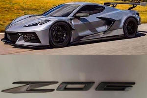 Leaked: This Is The New Corvette Z06 Logo