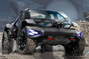 GM's Vision Of A Future Off-Roader Is Pretty Scary
