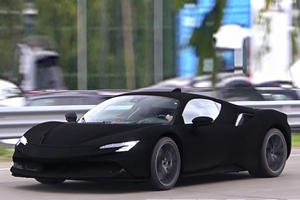 This Is The Blackest Ferrari On The Planet