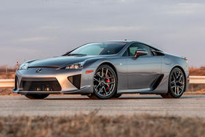 Extremely Rare Lexus LFA Has Barely Been Driven