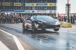 AMS Performance's Huracan Just Smashed Its Own 1/4-Mile Record