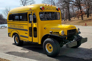 Hellcat-Swapped Dodge Power Wagon Is The Ultimate School Bus