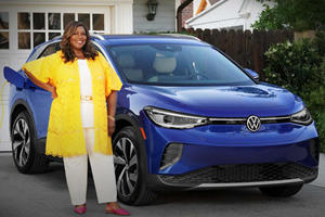 Retta Will Give You A Virtual Tour Of The Volkswagen ID.4 In Your Living Room