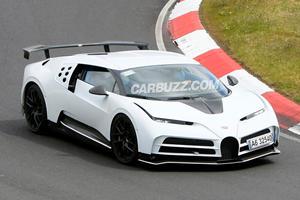 Spied! 1,600-HP Bugatti Centodieci Edges Closer To Production