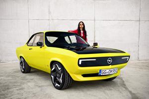 Opel Reveals The Manta EV In All Its Retro Glory