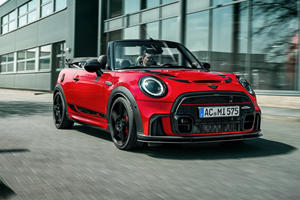 2022 Mini JCW Convertible Upgraded With New Look And More Power