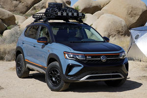 VW Taos Basecamp Concept Shows Tough Side Of Small SUV