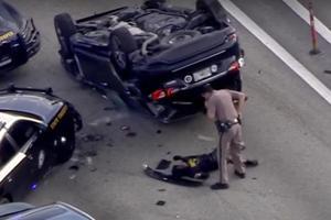 Infiniti QX60 Police Chase Causes Mayhem In Florida