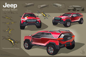High School Students Design Electric Jeep