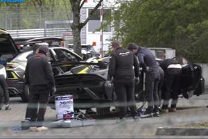 Lamborghini Caught Using Special Fuel For Nurburgring Run