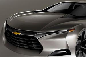 Chevy's Secret Sports Car Sketch Raises Eyebrows
