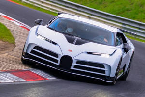 Watch The 1,600-HP Bugatti Centodieci Hit 200 MPH At The Nurburgring