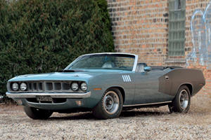 $4.8 Million Bid Not Enough For 1971 Plymouth Hemi 'Cuda Convertible