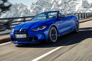 2022 BMW M4 Competition Convertible Arrives With More Power And Lighter Roof