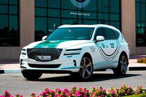 2021 Genesis GV80 Joins Dubai's Police Force