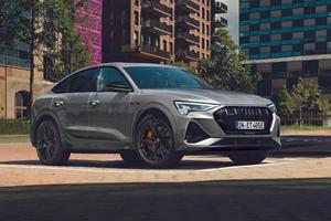 Audi Reveals New e-tron S Line Black Edition
