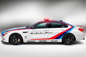 BMW M6 Gran Coupe Hits MotoGP