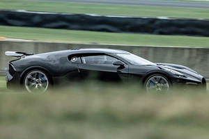 $18-Million Bugatti La Voiture Noire Hits The Track