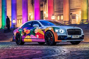 Special Bentley Flying Spur Celebrates Pride Month