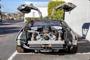 World's Most Powerful DMC DeLorean Is A 630-HP Time Machine