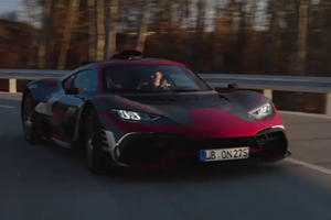 Watch The 1,200-HP Mercedes-AMG One Out On Public Roads