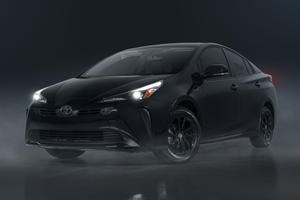 Toyota Tries To Make Prius Look Mean With Blacked-Out Styling