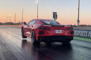 Watch This 1,000-HP Corvette Stingray Pop A Wheelie
