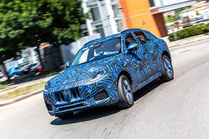 Maserati Shows Off New Grecale SUV
