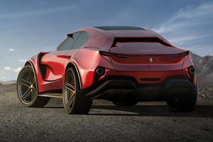 This Is What The Ferrari SUV Should Look Like
