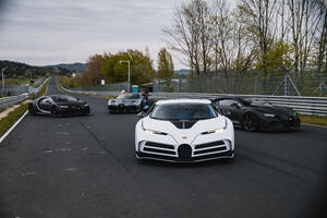 Bugatti Tests Chiron Super Sport 300+ And Centodieci At The Nurburgring